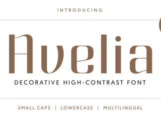 Avelia Font Script