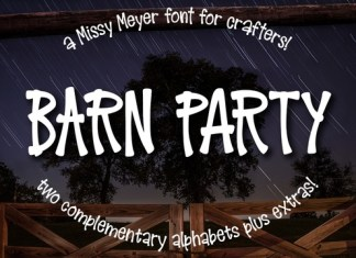Barn Party Font
