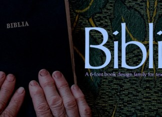 Biblia Font Family