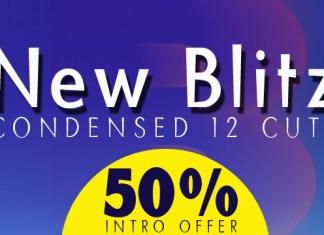 Blitz Condensed Font