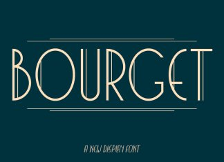 Bourget Font