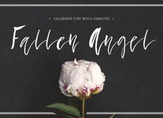 CM - Fallen Angel - Calligraphic Font