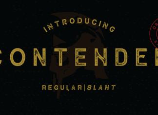 Contender Font Family