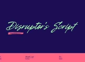 Disruptor's Font Scrip