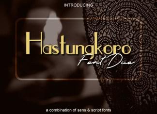 Hastungkoro Duo Font