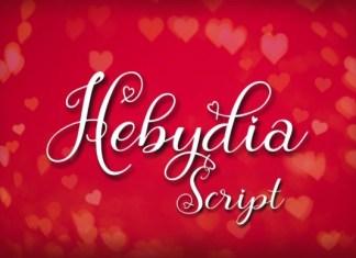 Hebydia Font