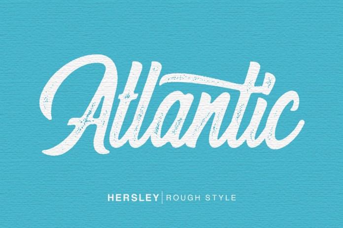 Hersley Typeface Font
