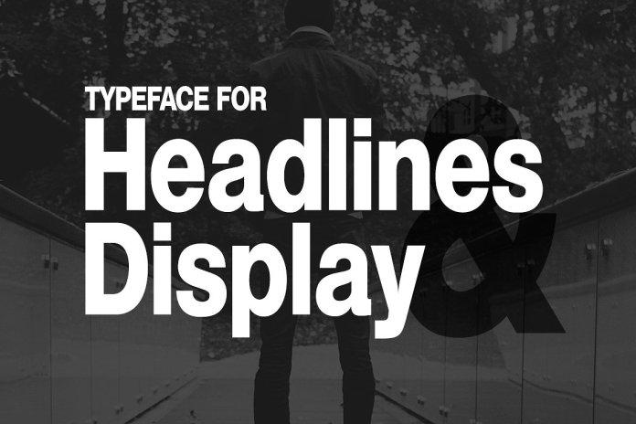 HEXA - Modern Display Typeface