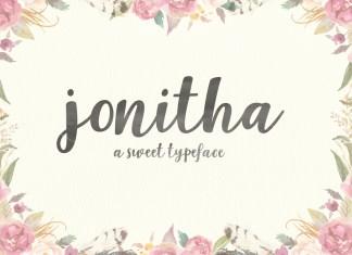 Jonitha Script Font