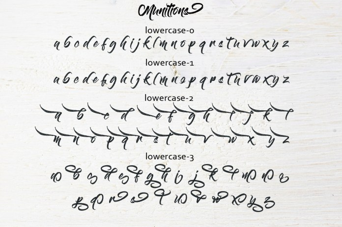Lontong Font