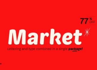 Market Font Family 12