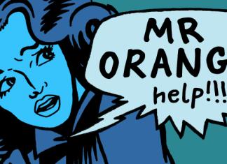 Mr Orange Font
