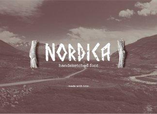 Nordica Font Script