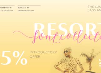 Resort Font Family