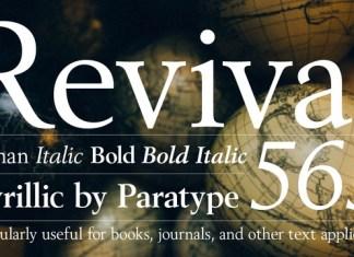 Revival 565 Font