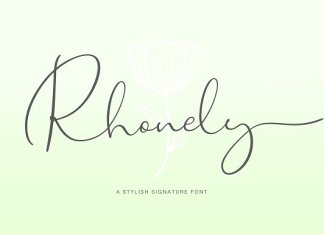Rhonely Font