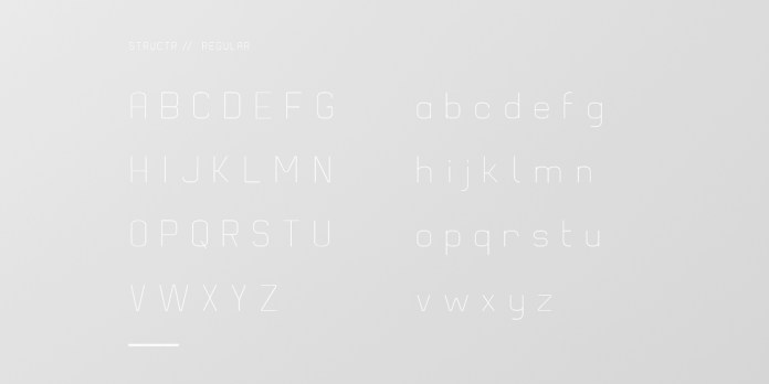 Structr Font Family