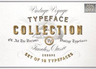 Typeface Collection Font