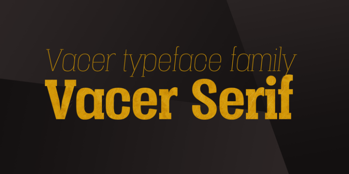 Vacer Serif Font Family