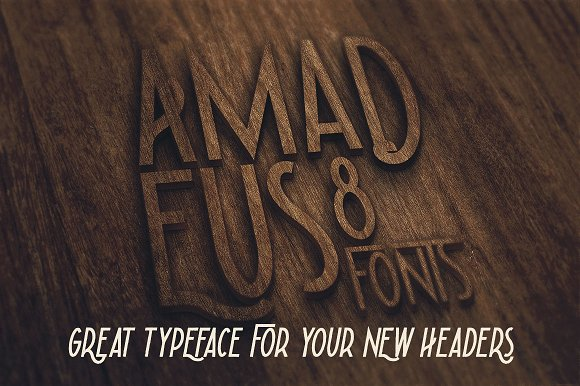 Amadeus - Display Font