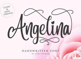 Angelina Script- Beautiful Handwritt Font