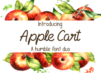 Apple CartScript Font