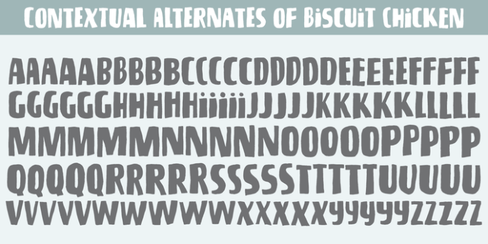 Biscuit Chicken Font Family