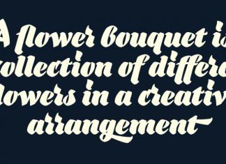 Bouquet Font Scriept