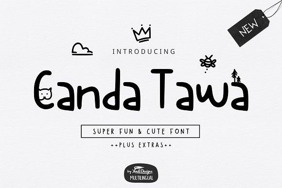 Canda Tawa Cute Font