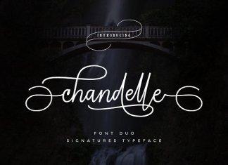 Chandelle Signatures Font