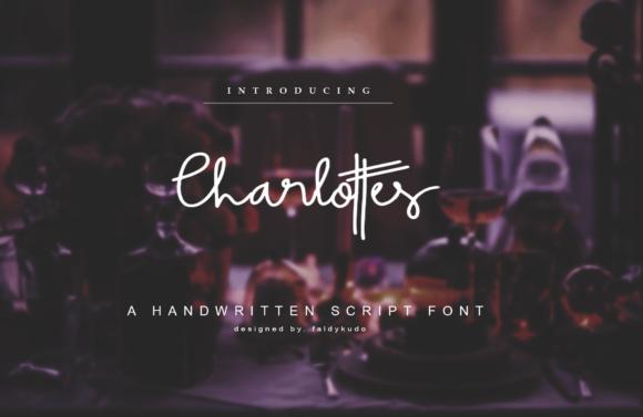 Charlottes Font