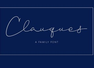 Clauques Script Font