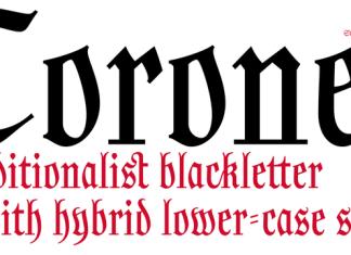 Coroner Font