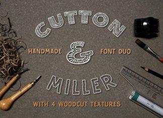 Cutton & Miller Font Duo