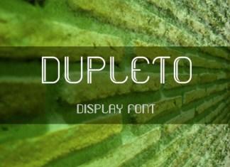 Dupleto Font