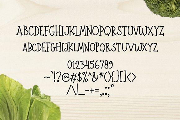 Farmer Market Simple Font