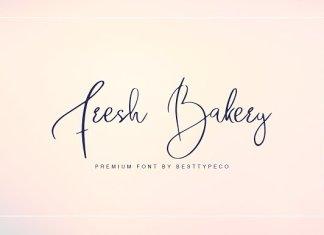 Fresh Bakery Font