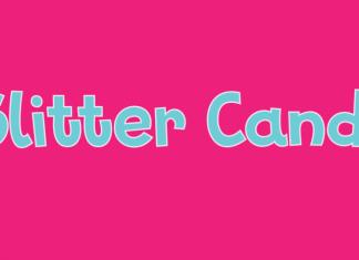 Glitter Candy Script Font