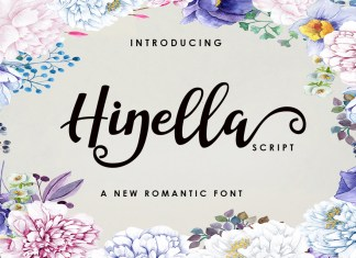 Hinella Font Script
