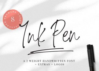 Ink Pen Handwritten Font