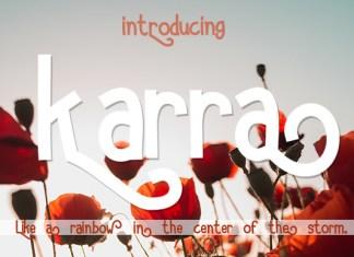 Karra Font Script