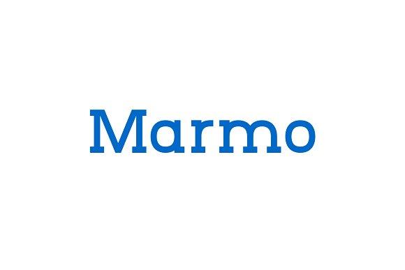 Marmo – Font Family