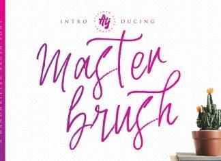 Master Brush Font