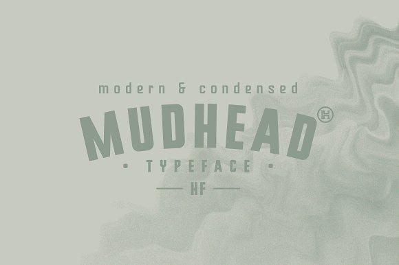 Mudhead Typeface Font