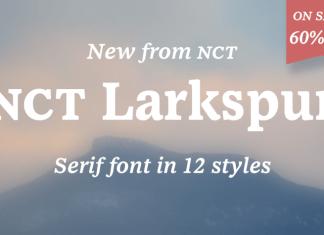 NCT Larkspur Font