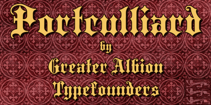 Portculliard Font