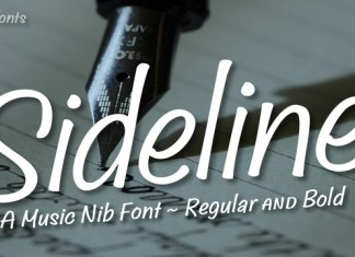 Sideline Font Family