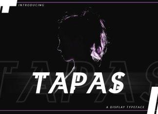 Tapas Font Script