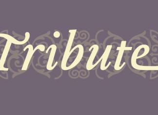 Tribute Font Family