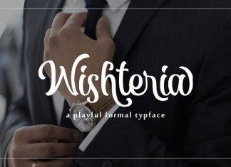 Wishteria Scrip Font